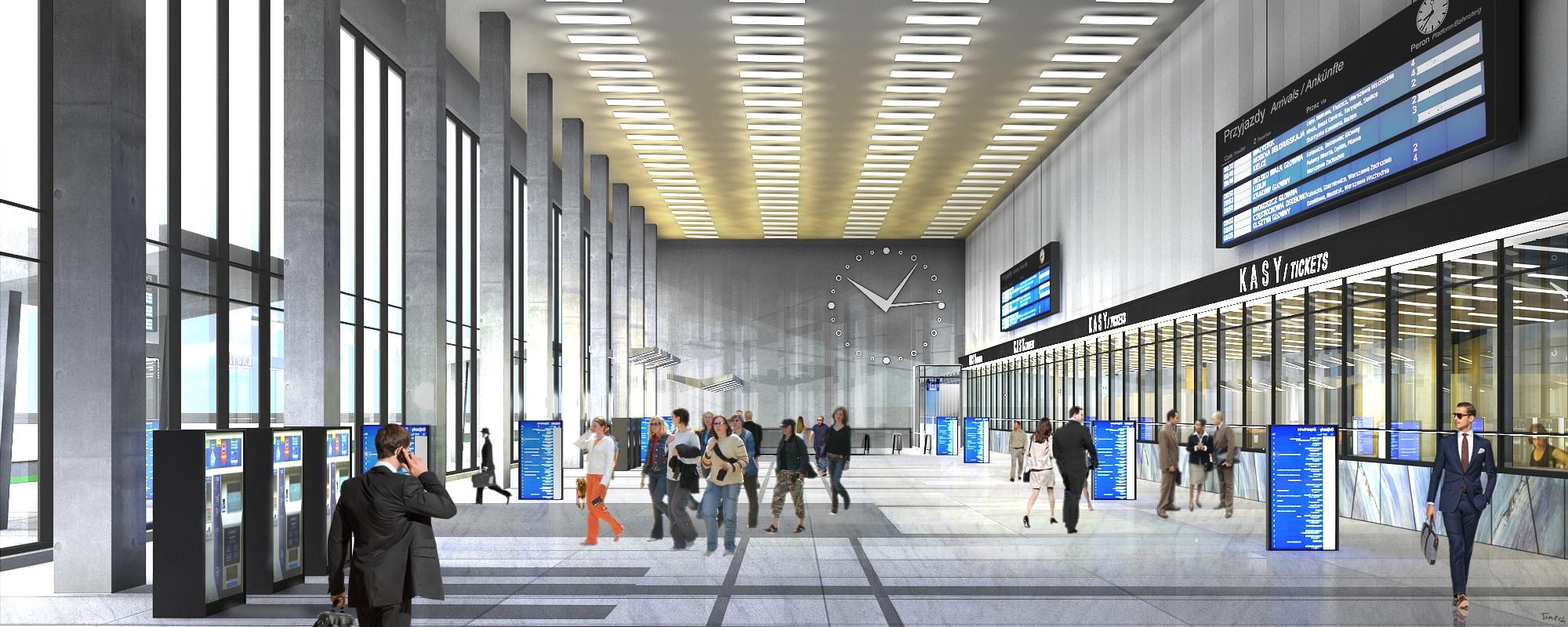 Dworzec Główny - wnętrze